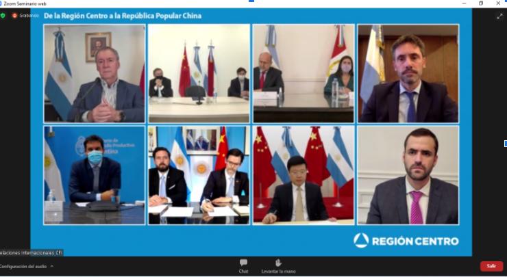 El Consejo Empresario participó del Lanzamiento del Programa de Capacitación y Rondas de Negocios de la Región Centro con China.